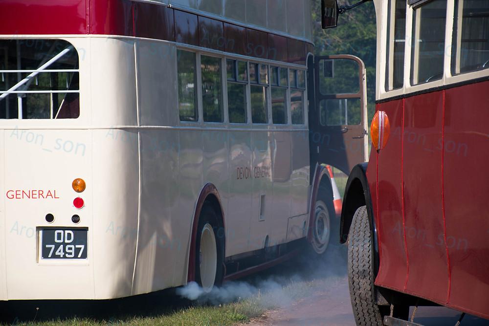 Hidegindítás a '34-es buszon.
