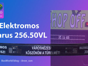Elektromos Ikarus 256.50VL