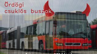 Ördögi csuklós buszok