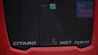 Citaro 2 NGT Hybrid teszt