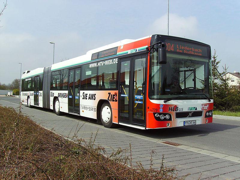 Egy hesseni darab. Fotó forrása: HLB Hessen Bus honlapja.