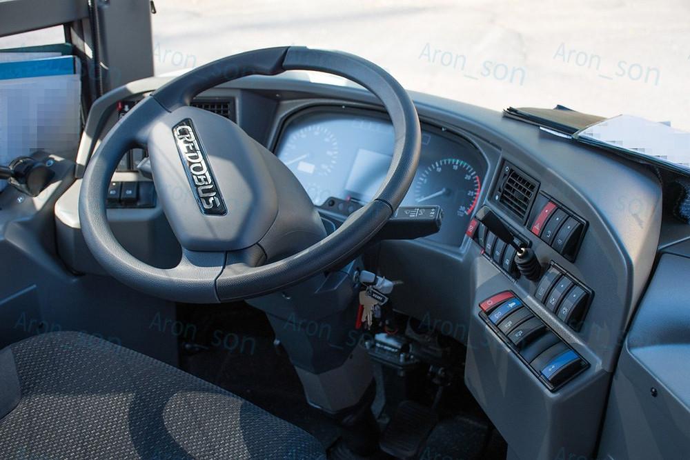 A sofőr elmondása alapján 'keményebb a kormánya', mint a használtan a térségben futott Volvo 8700LE-nek (PEP-667).
