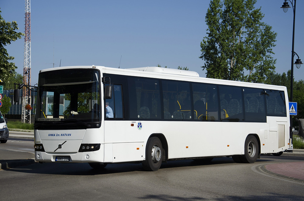 A Volvo 8700 a csányi fordára került (NWX-337). Fotó: Aron_son
