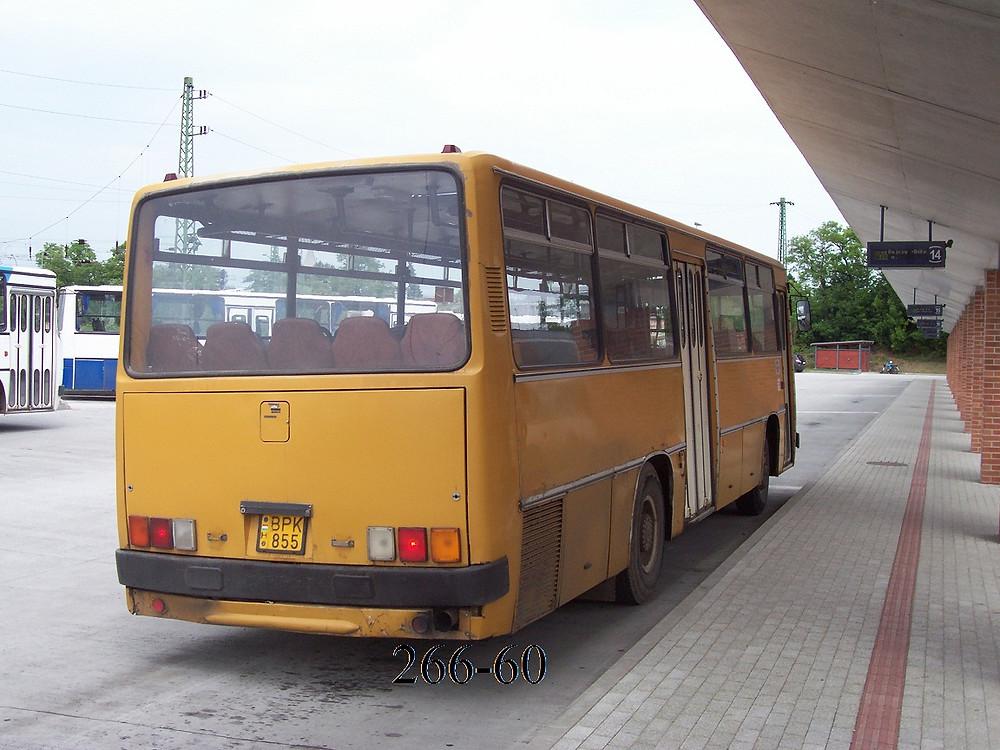 Az utolsó mohikán már az új autóbusz állomáson. Fotó: 266-60