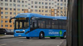 Volvo 7900A Hybrid teszt