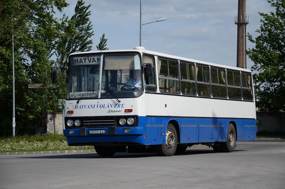 A Kisalföld Volántól érkezett a BOS-243... Fotó:Aron_son