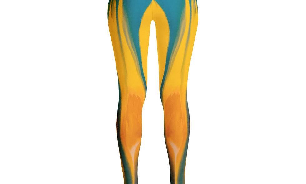 Tie Dye Drip Design Leggings