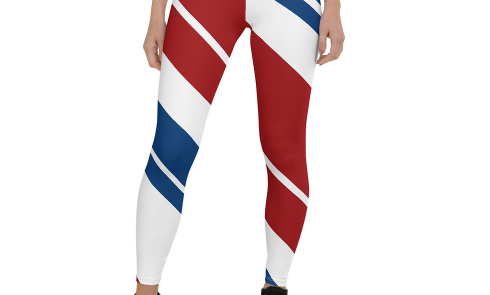 Red White and Blue Leggings for America