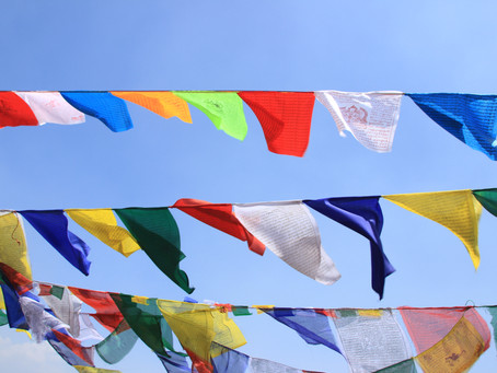 Prayer Flags for Tibet