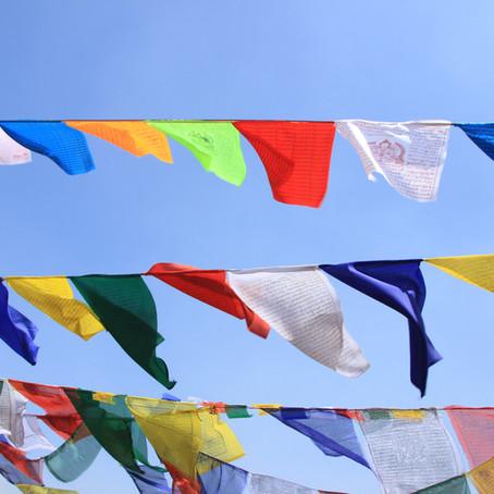 Prayer Flags for Tibet