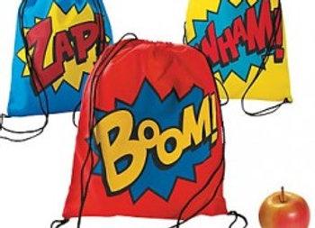 Bonus Superhero Backpack It's In The Bag