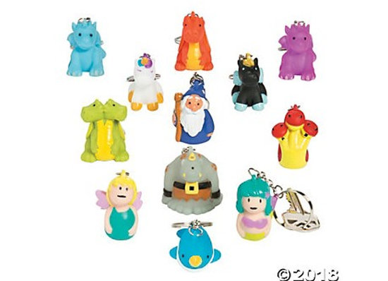 Level A1-Bonus Mystical Creatures Keychain Collectible