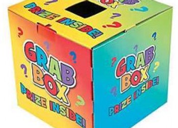 Fundraising Grab Box for collectibles