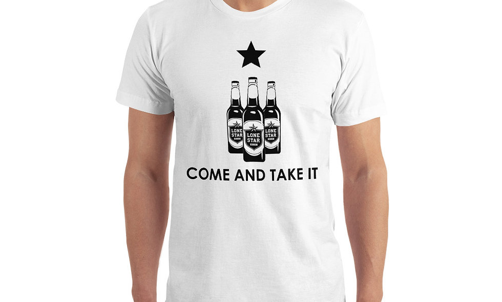 Come and Take It Lonestar Beer T-Shirt