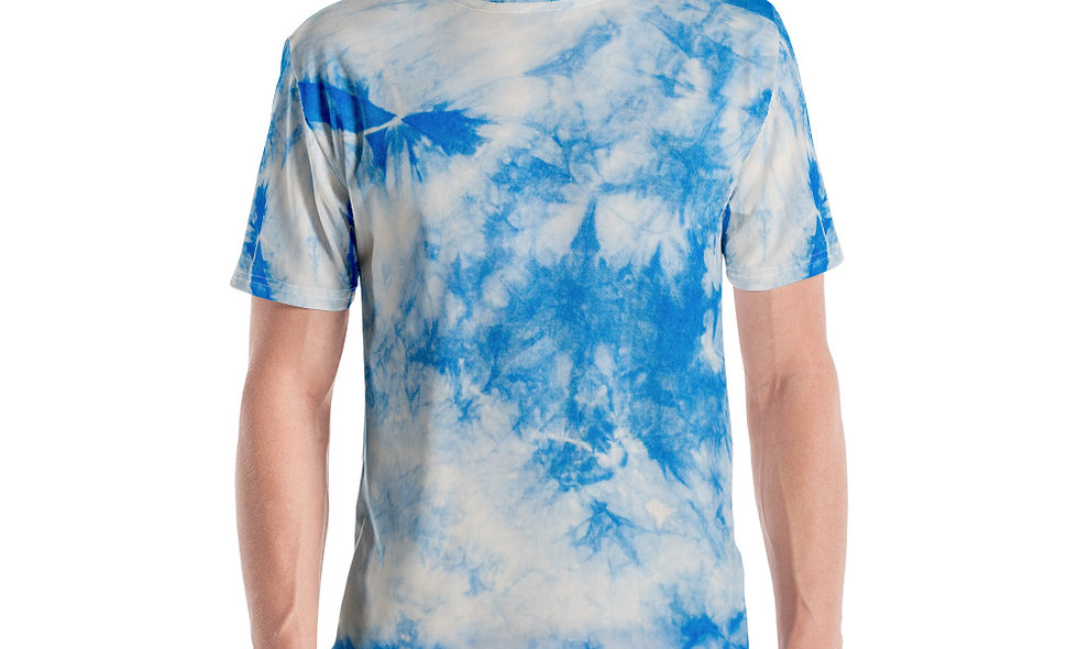 Arctic Look Tie Dye Men's T-shirt
