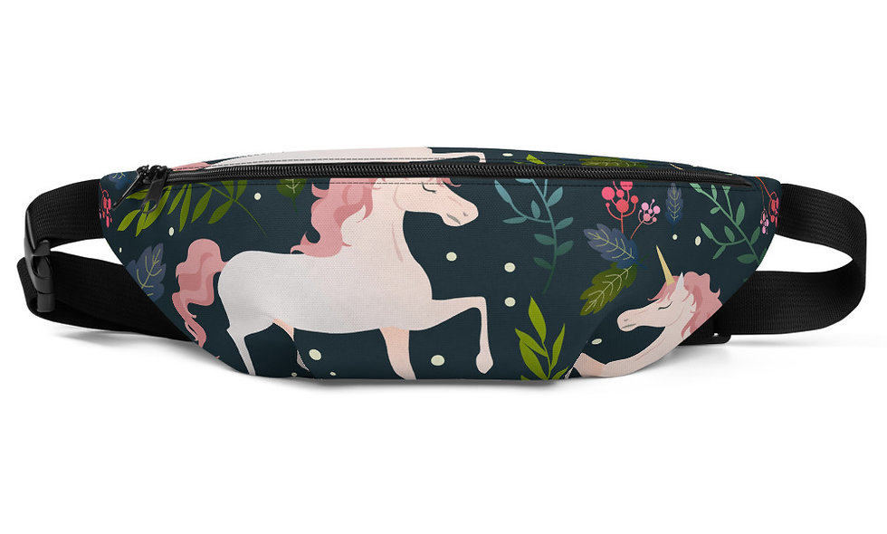 Unicorn Fanny Pack - Fairy Tale Fanny Pack for Kids