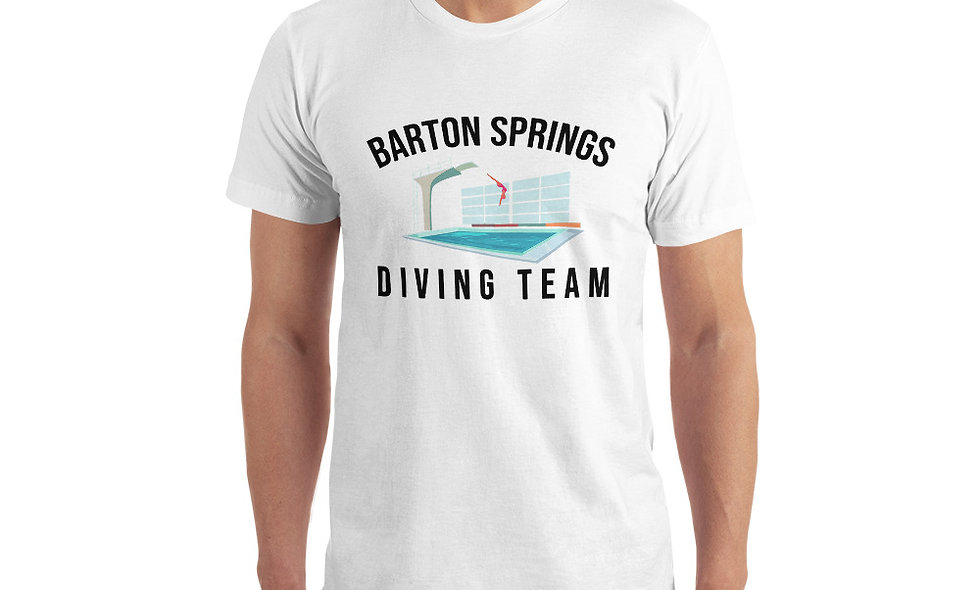 Barton Springs Diving Team Austin, TX T-Shirt