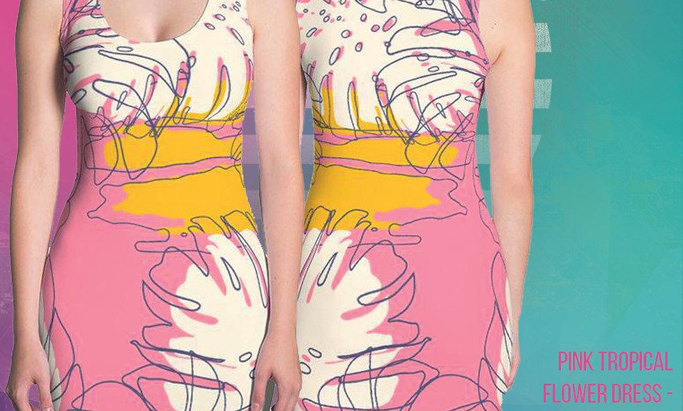Tropical Luau Dress