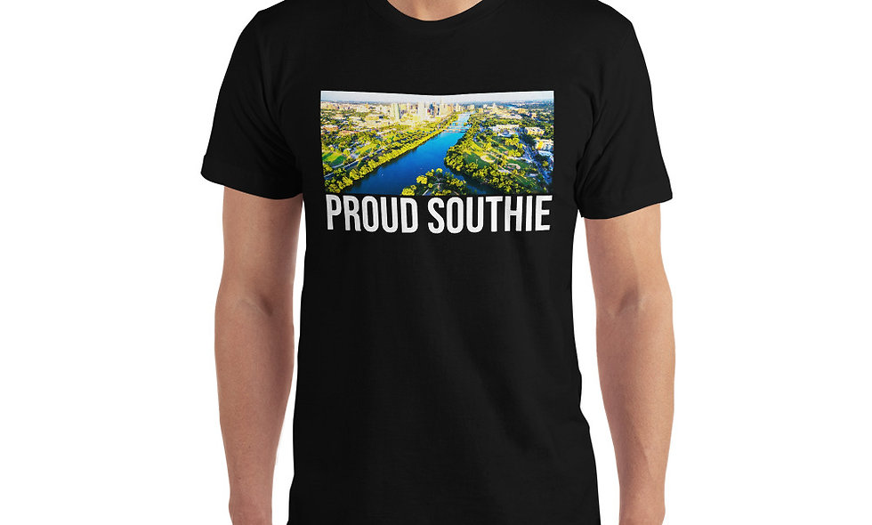 Proud of South Austin, Texas Unisex T-Shirt - Colorado River T Shirt