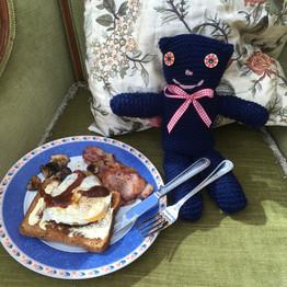 Nigel needs a hearty breakfast before go