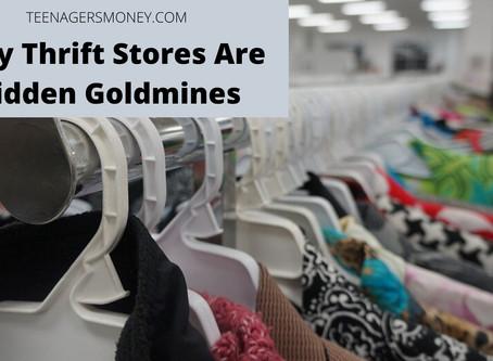 The Hidden Goldmine: Thirft Stores