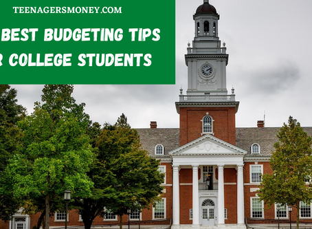 The Best Budgeting Tips For College Students