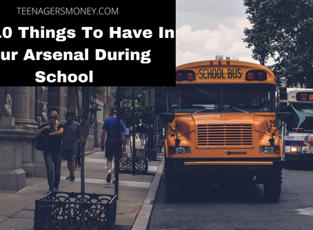 Top 10 Things To Have In Your Arsenal During School