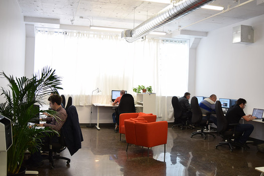Our New Office Loft