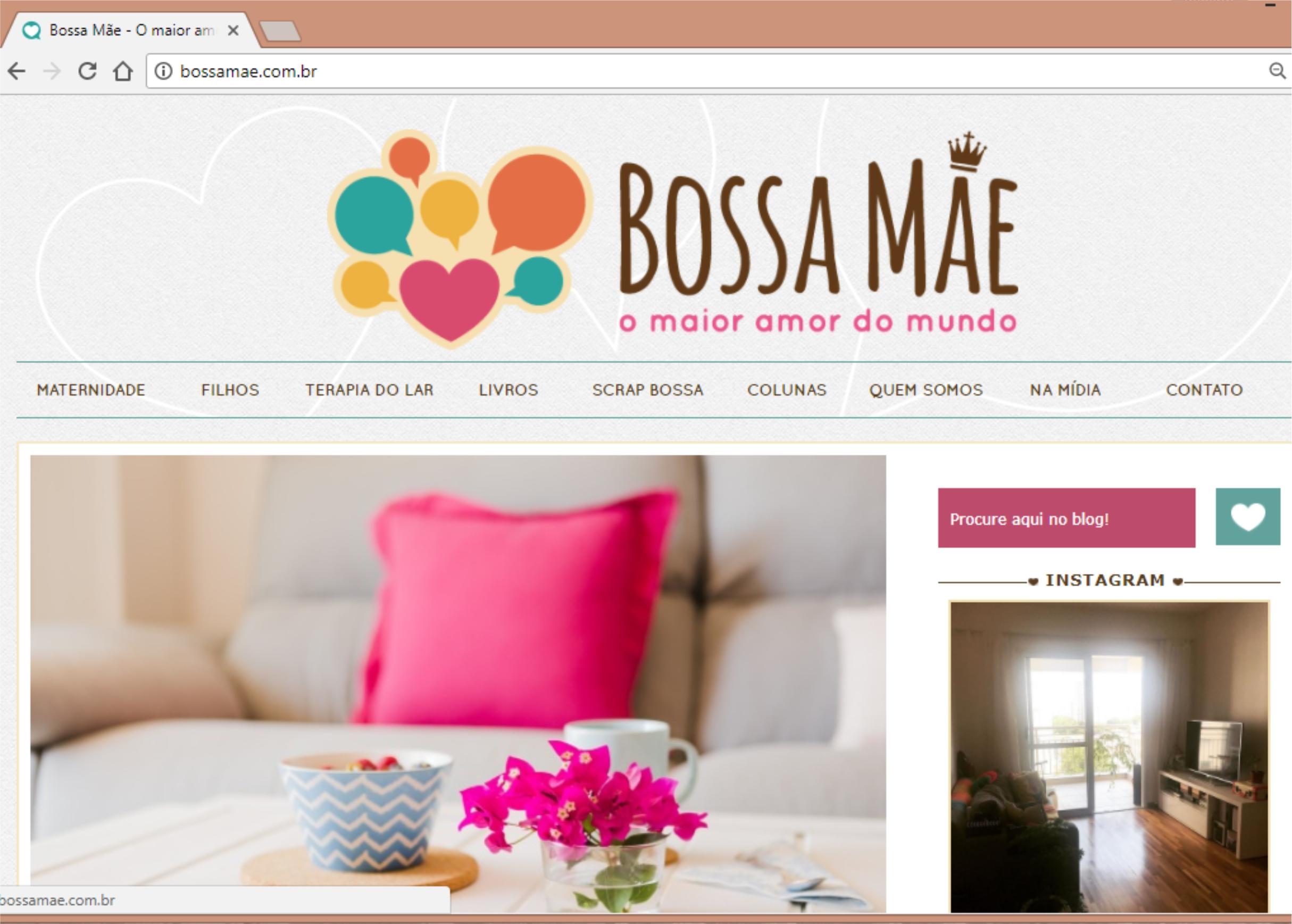 Blog Bossa Mãe