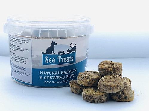 NATURAL SALMON & ORGANIC SEAWEED BITES