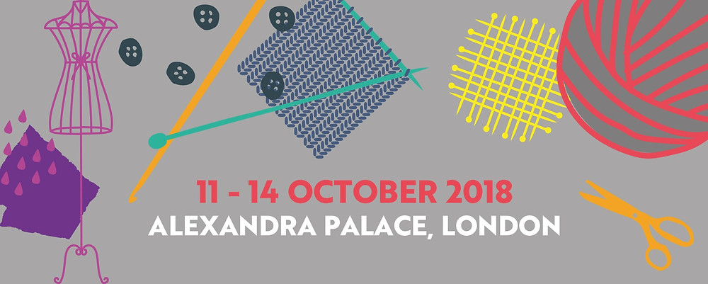 Knitting and Stitching Show web banner