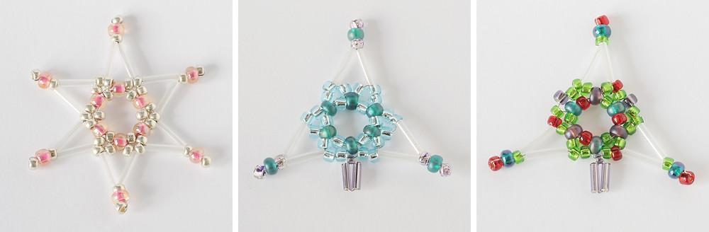 Bead Star to bead Christmas tree