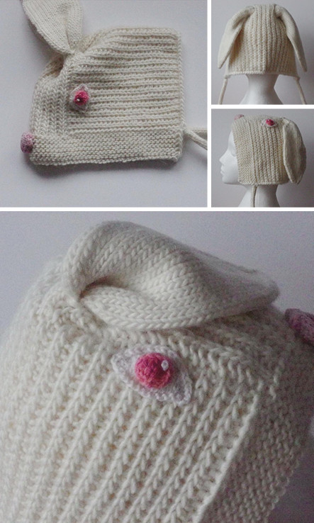 Rabbit animal hat