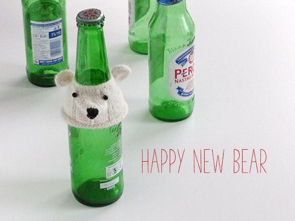 Polar Bear bottle cover