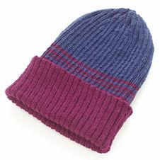 Rib top-down hat