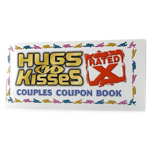X Rated Coupon Booklet