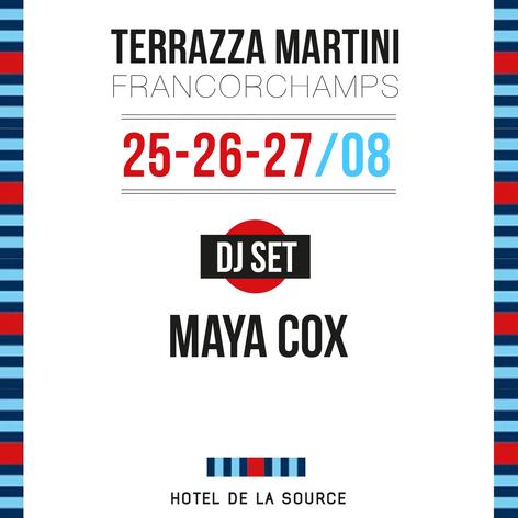 MARTINI TERRAZZA @ SPA FRANCORCHAMPS