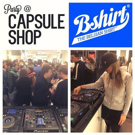 B SHIRT @ Capsule Shop