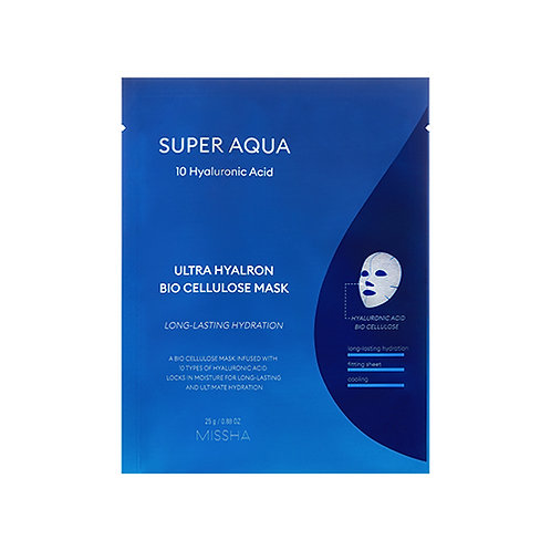 Missha Super Aqua Ultra Hyalron Bio Cellulose Mask