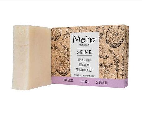 Meina Seife mit Bergamotte und Sandelholz