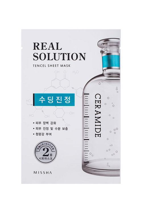 Missha Real Solution Tencel Sheet Mask (Soothing) CEAMIDE
