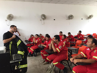 LION & IFRM helping first responders in Peru