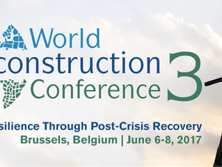 World Reconstruction Conference 3: Promoting Resilience