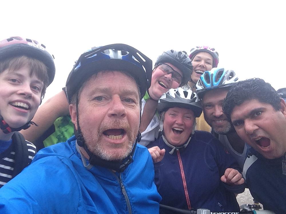 Fra venstre mot høyre; Nora, Lars, Remy, Karin, Imke, Andre og Amer.