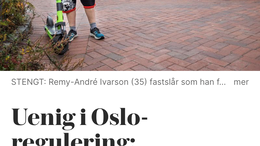 El-sparkesykler i Oslo