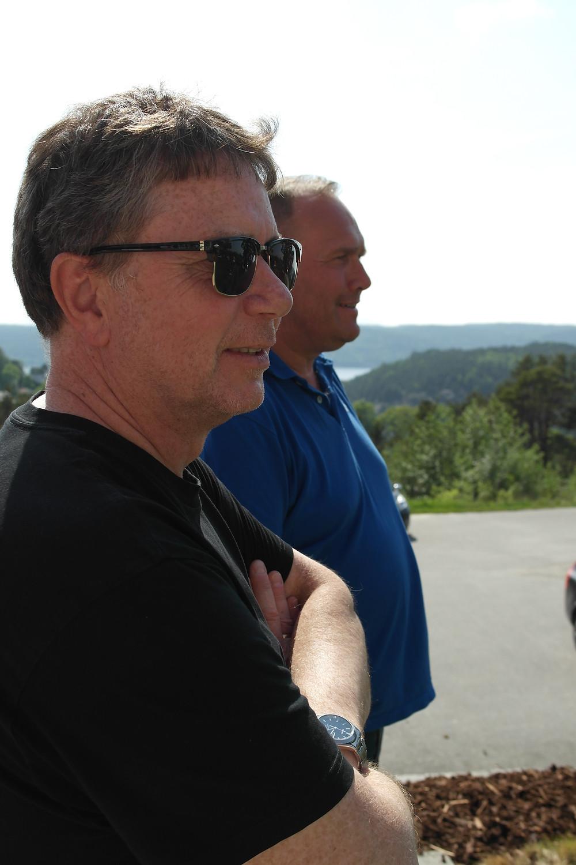 Lars og Jon kikker tilbake på et svært vellykket seminar.