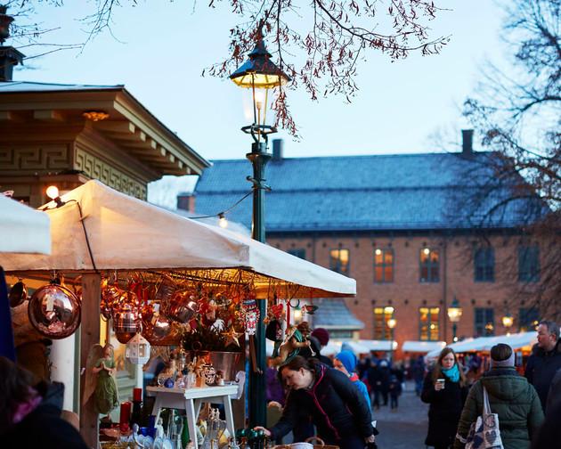 Julemarked på Folkemuseet på Bygdøy