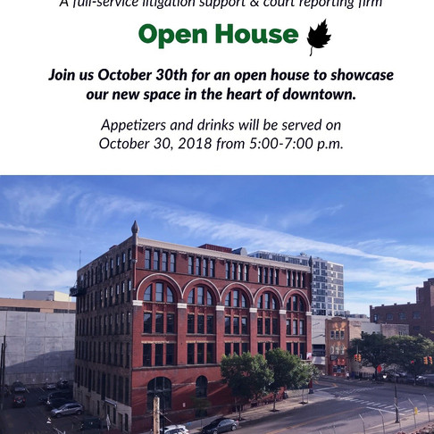 Fortz Legal - Open House for New Grand Rapids Office