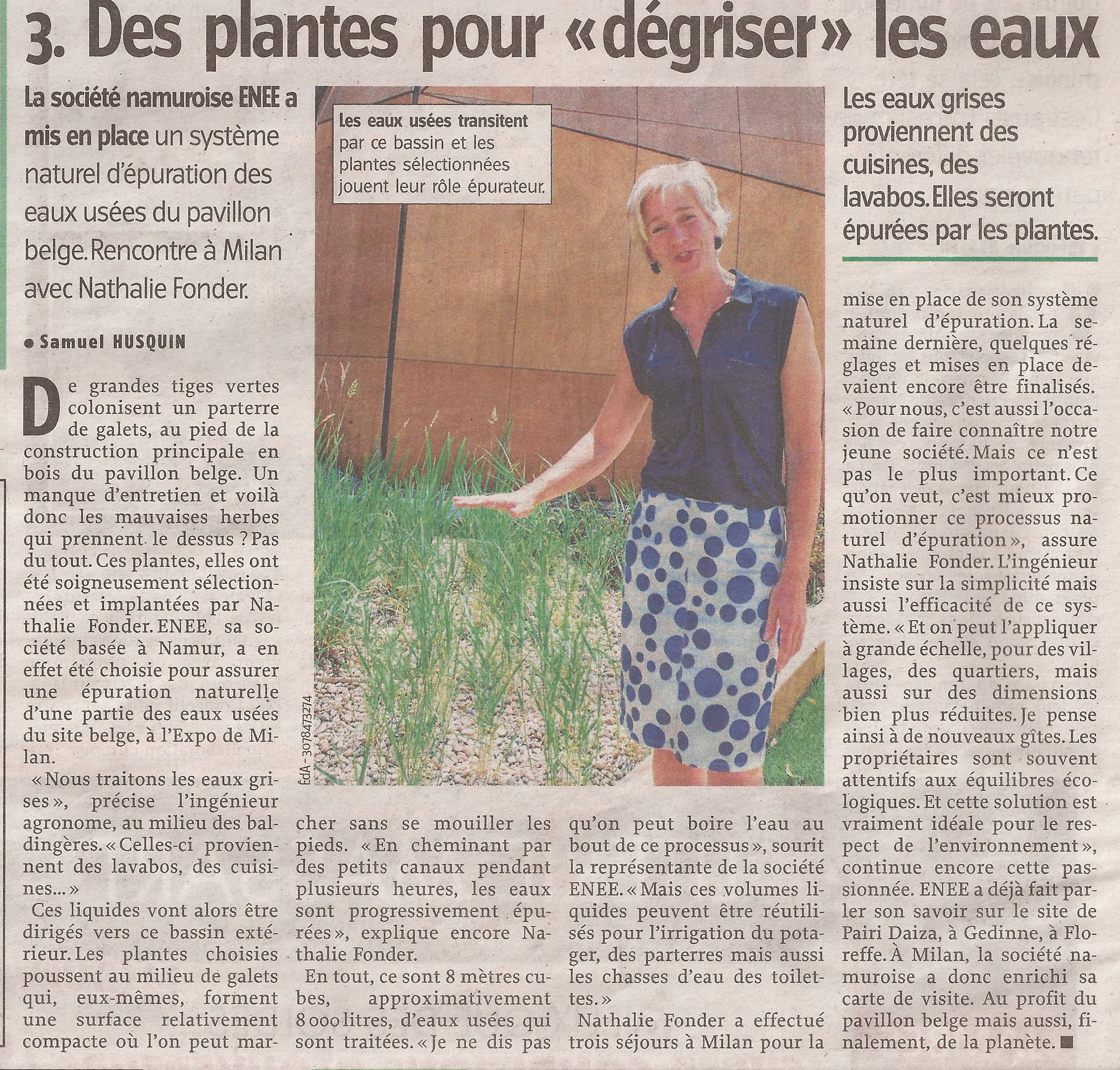 Vers L'Avenir  04/07/15
