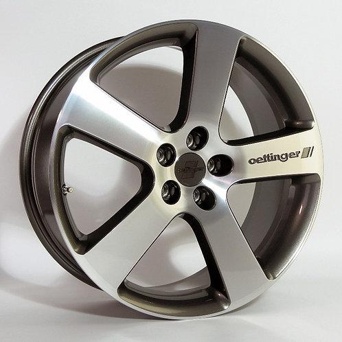 LLANTA Sports Rim Type RXX Charcol-Diamond